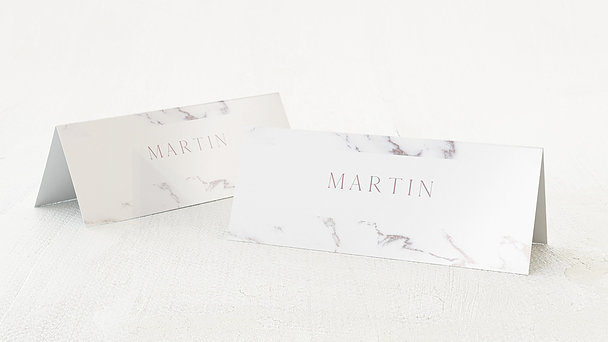 Tischkarten Hochzeit - Marmoriert