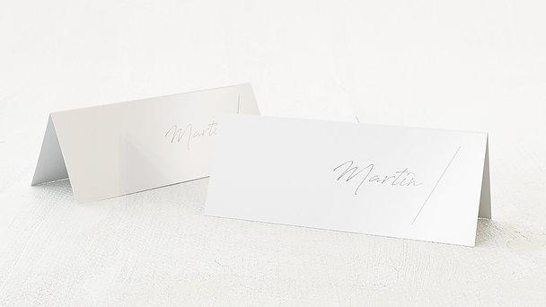 Tischkarten Hochzeit - Insignien
