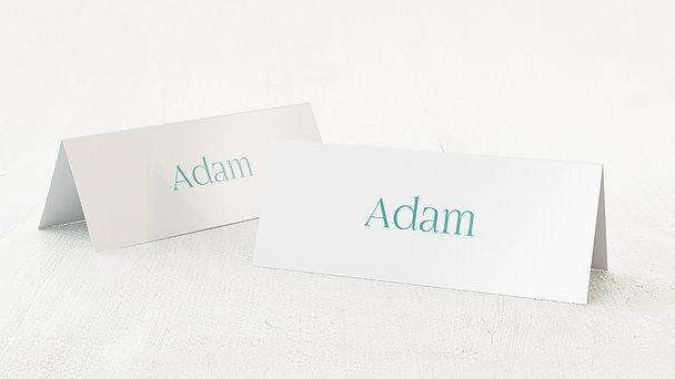 Tischkarten Hochzeit - Zielgerade