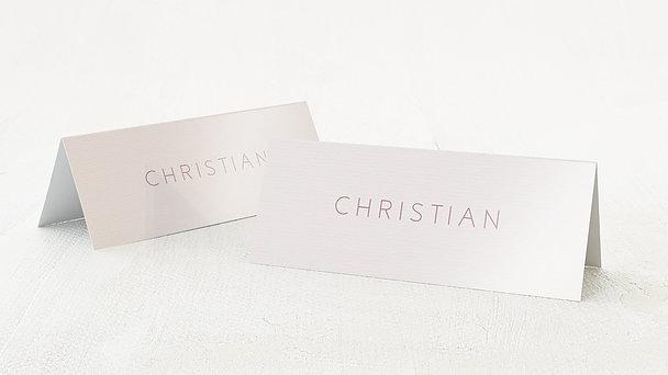 Tischkarten Hochzeit - Liebesquiz