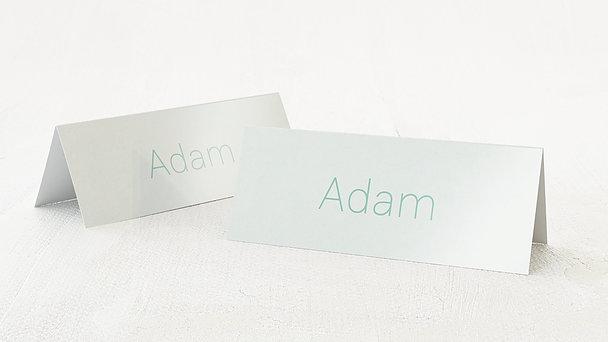 Tischkarten Hochzeit - Peppermint