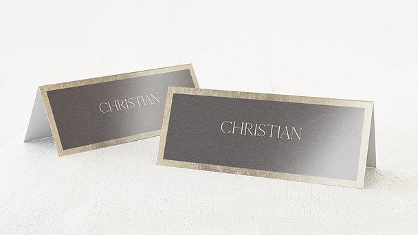 Tischkarten Hochzeit - Für die Ewigkeit