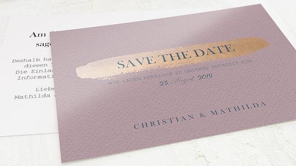 Save the date - Kupferglanz