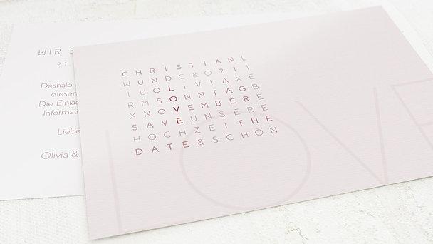 Save the date - Liebesquiz
